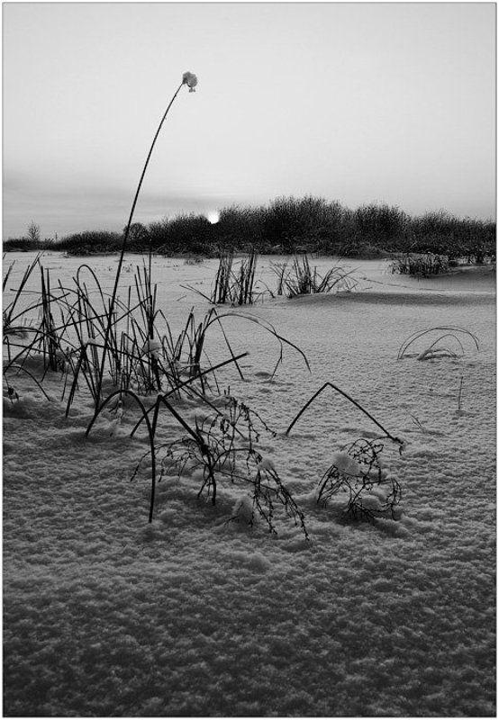 зима, снег, ока ***photo preview