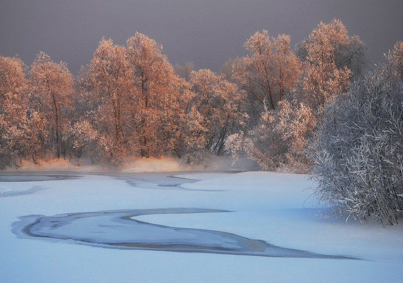 Картинки для детей речка замерзла