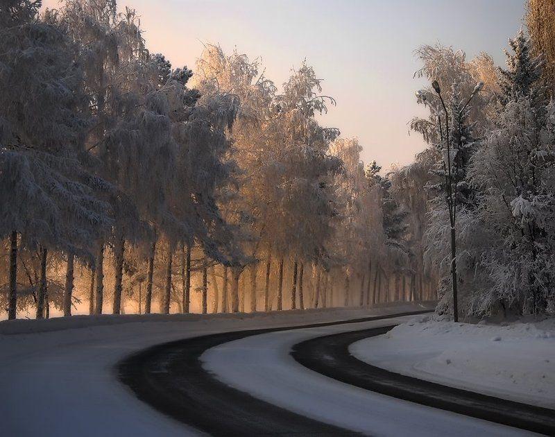 иртыш,зима Морозный денекphoto preview