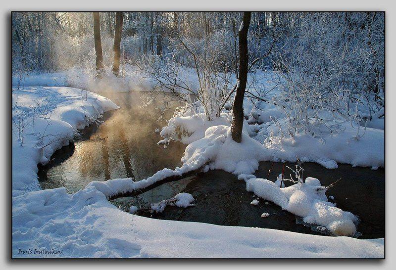 зима, ерик, излучина Излучинаphoto preview