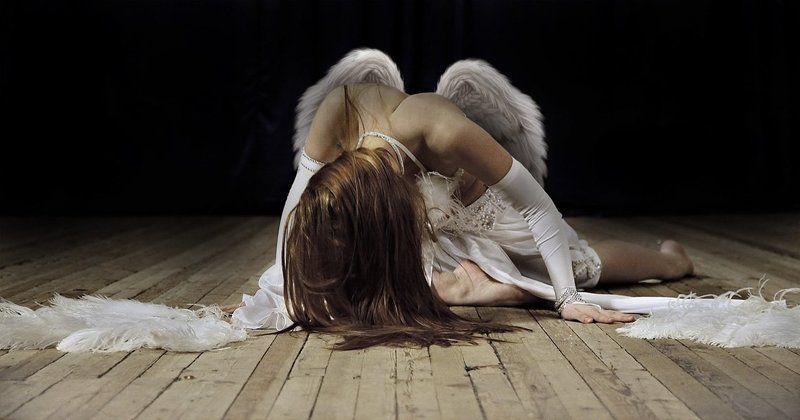 ангел, девушка, танцовщица нет больше силphoto preview