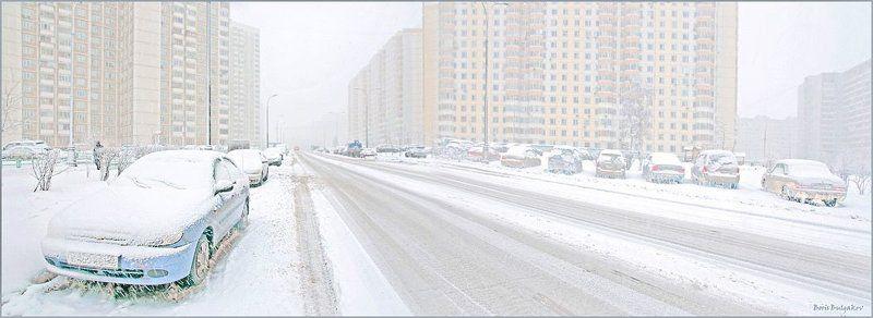 город , зима, чистота Снизошла на город чистота...photo preview
