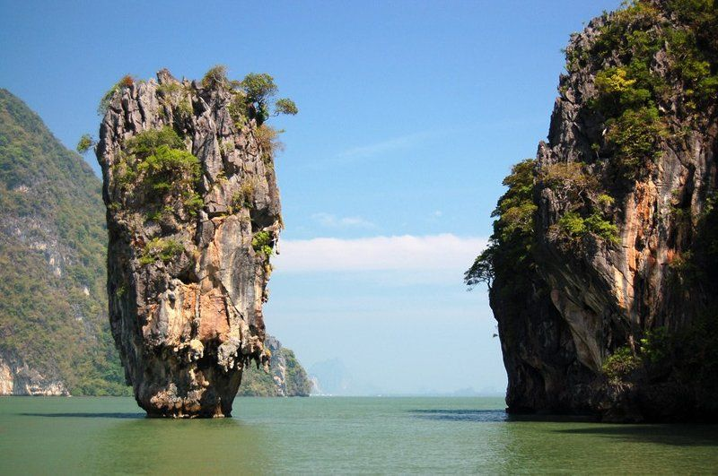 thai, phuket, sea, скалы, острова, rocks, james, bond james bond rockphoto preview