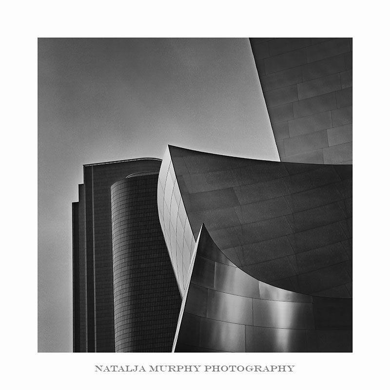 B&w, Building, Los Angeles, Square, Travel Walt Disney Music Hall, Los Angelesphoto preview