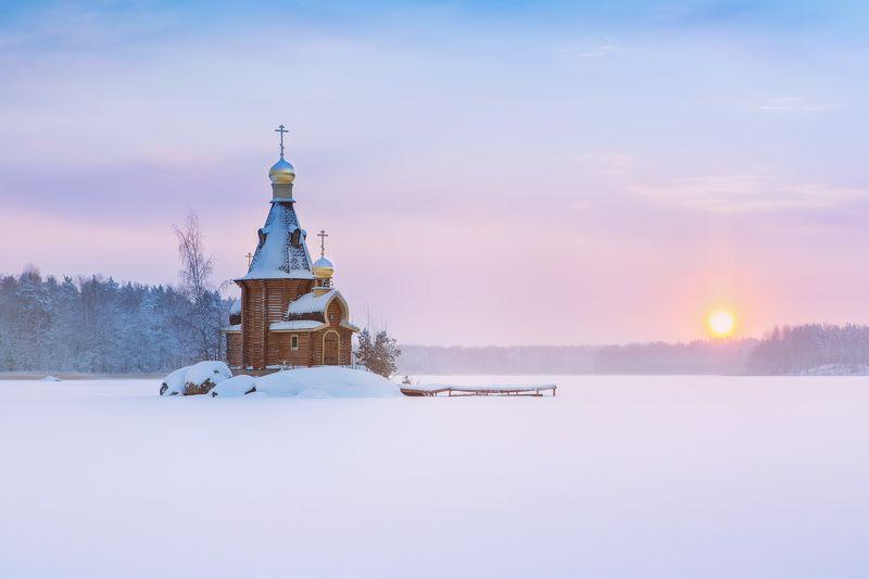 Церковь Андрея Первозванного на Вуоксеphoto preview