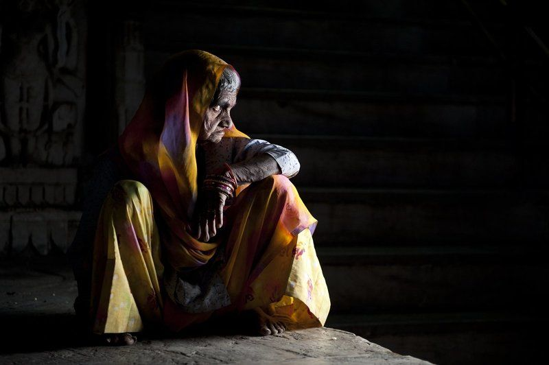 Grandmother, India, Indian, Mother, Old, Older, People, Portrait, Portret, Woman, Women Space Odyssey IIIphoto preview