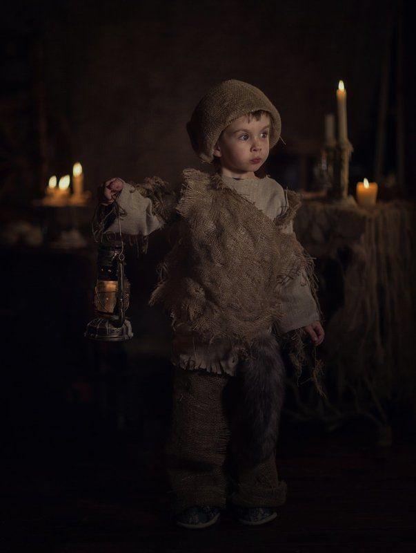 портрет, мальчик, домовой, баловник, ребенок Домовенок Гришаphoto preview