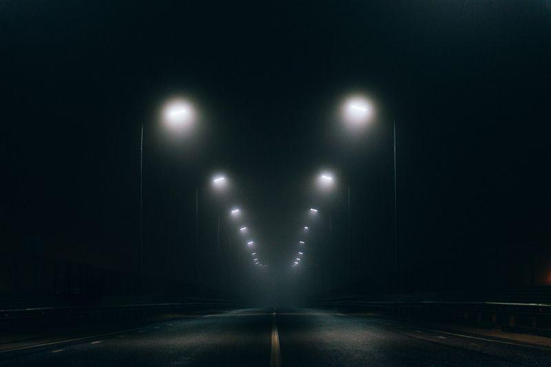 Город Город в тумане.photo preview