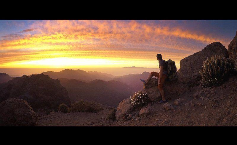 Гран канария, Закат, Путешествия Момент из путешествияphoto preview