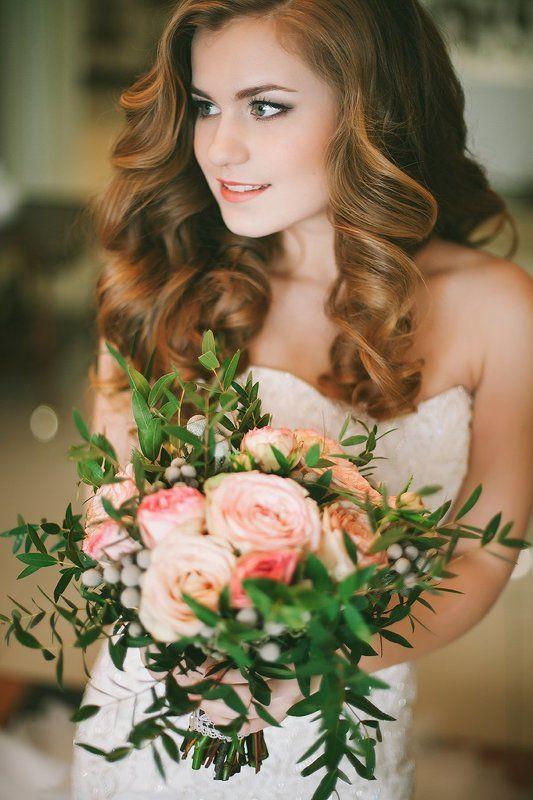 цветы, девушка, портрет веснаphoto preview