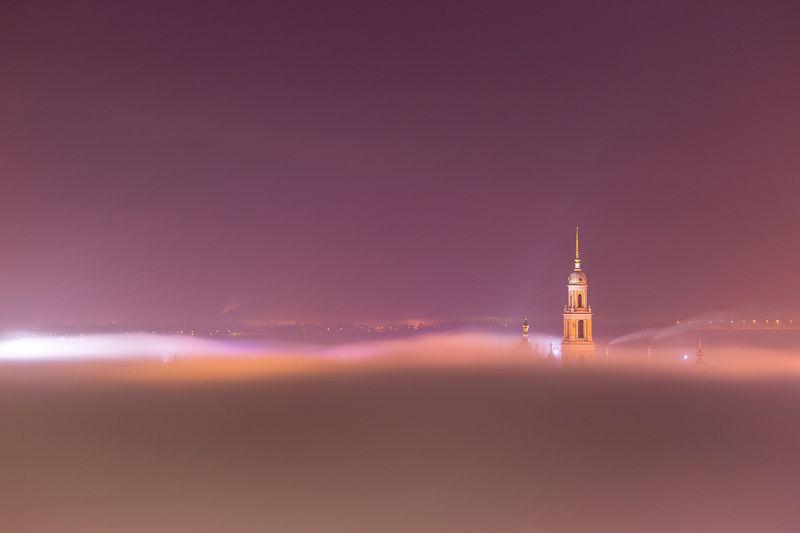 Первый весенний ночной туманphoto preview