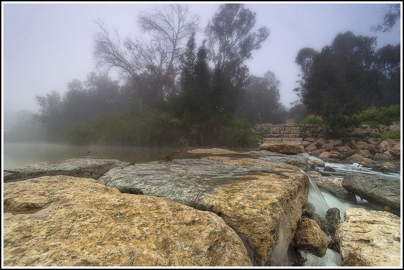 туман ручей Сорек Израиль  ***photo preview