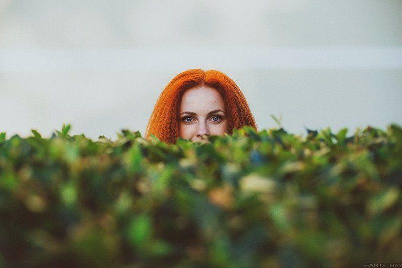 Портрет, Рыжая *****photo preview