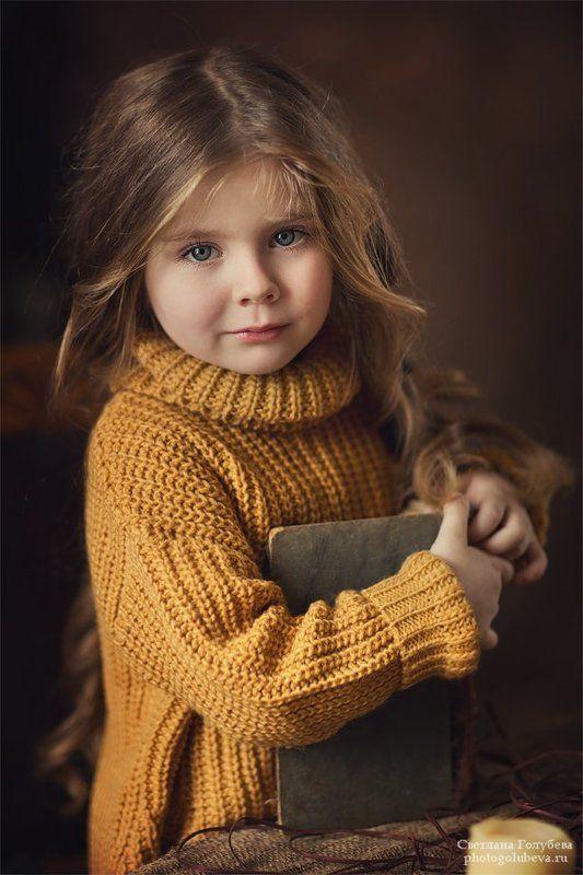 дети, девочка, портрет Викаphoto preview