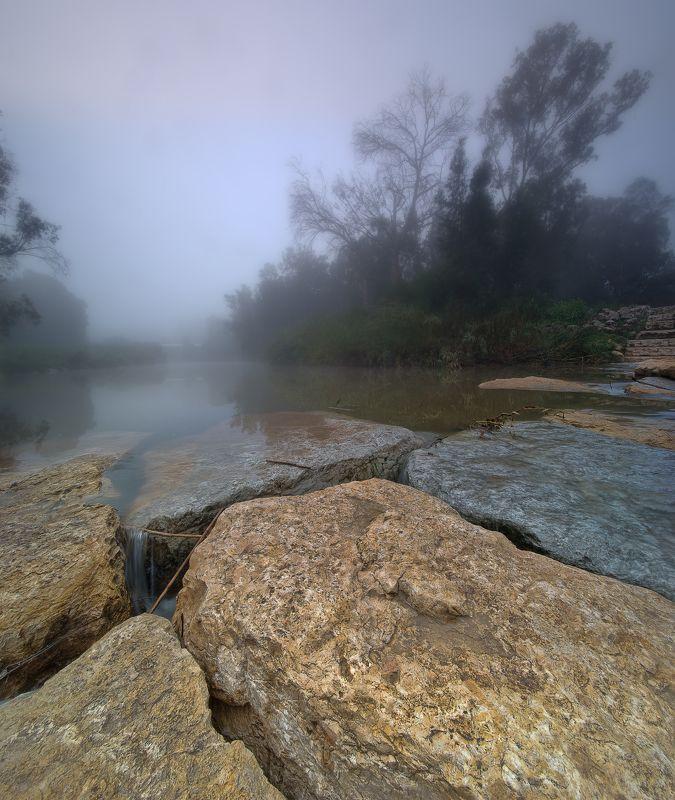 туман ручей Сорек Израиль *.*.*photo preview