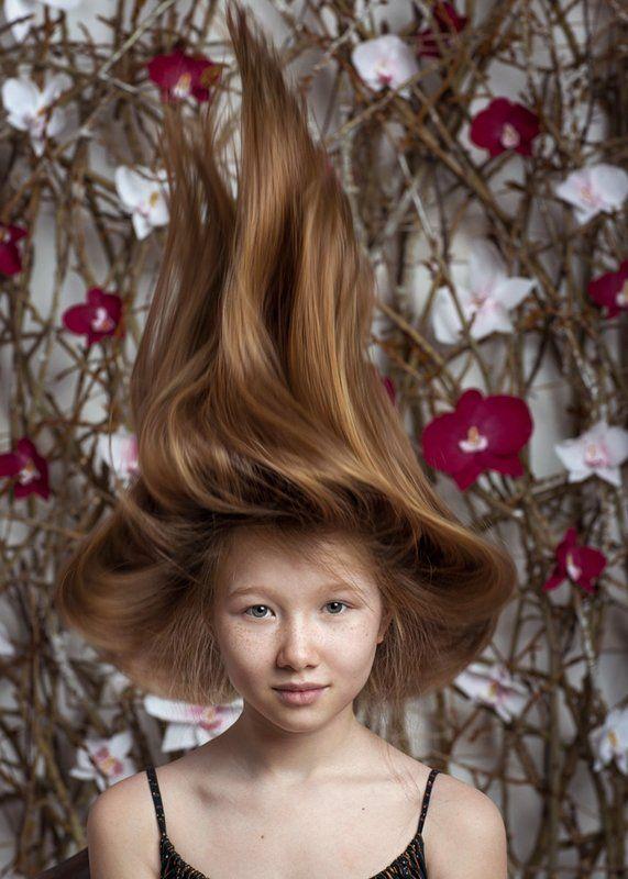весна, праздник, цветы, девочка, шляпа Весна пришлаphoto preview