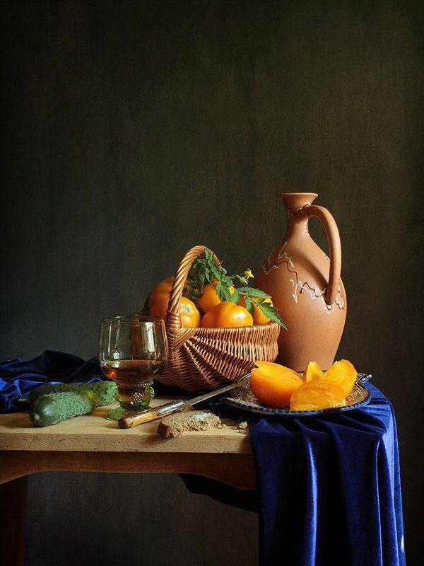 Натюрморт с солнышком и овощамиphoto preview
