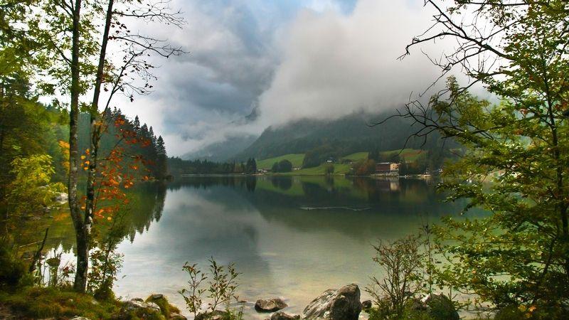 Осень Осень на озере Hinterseephoto preview