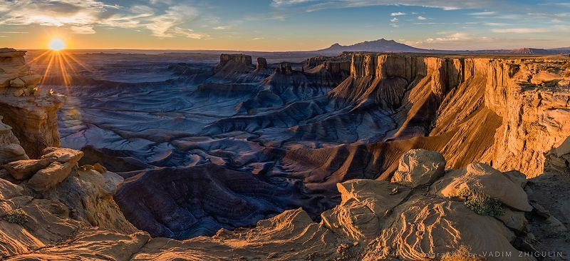 AMERICA AMERICAN NATIONAL PARKS,, AMERICA, AMERICAN NATIONAL PARKS, AMERICA, AMERICAN NATIONAL PARKS, American south-west, Landscape, Nature, Sunrise Moonscape Overlookphoto preview