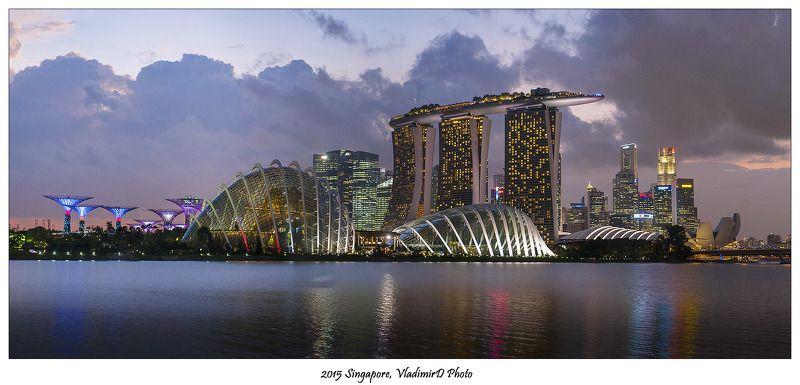 Небоскребы, Сингапур, Сити Далеко и близко.photo preview