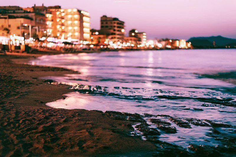 пляж, берег, вечер, море Вечерняя палитраphoto preview