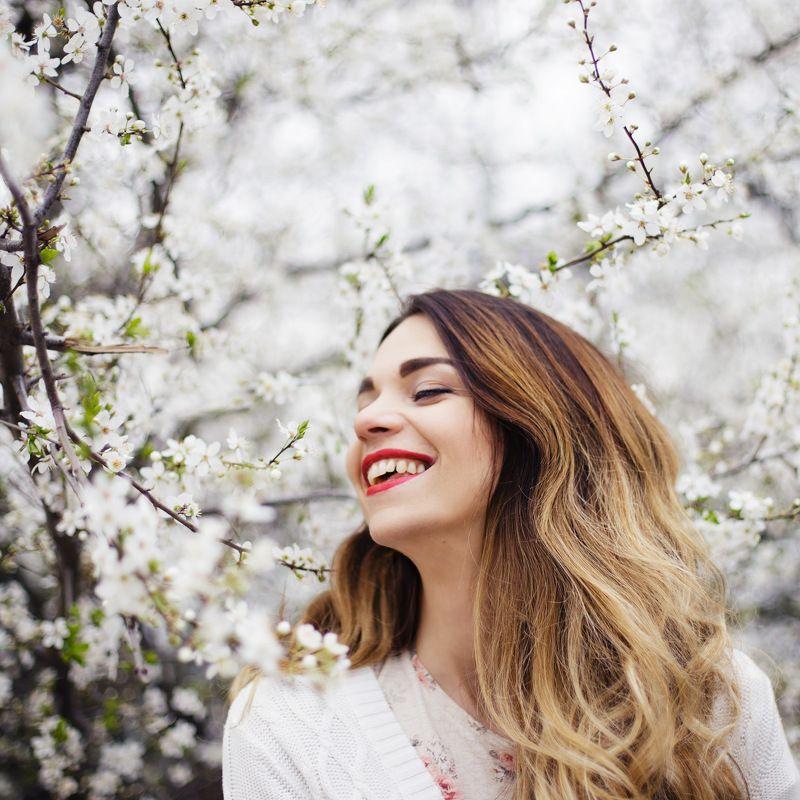 девушка весна ***photo preview