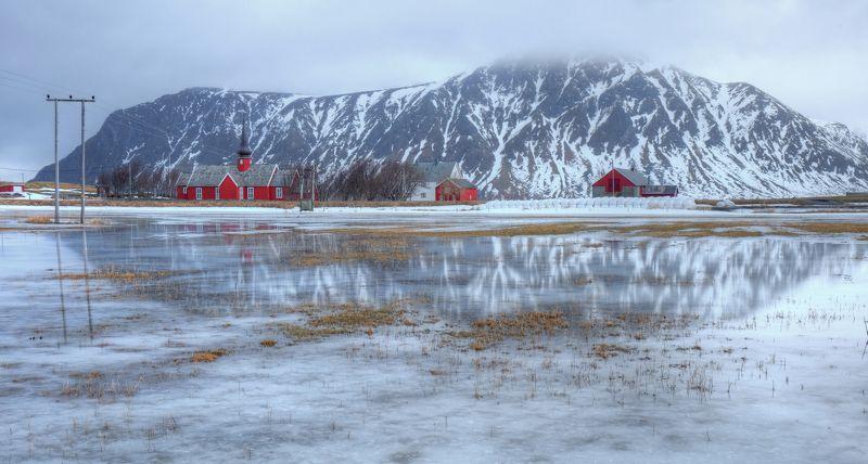 лофотены, лофотенские острова, норвегия Краски Лофотенphoto preview
