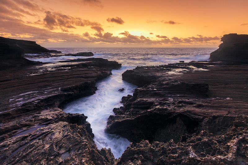 Анна пшишылны, Гавайи, Морской пейзаж, Пейзаж, Сша Гавайские сискейпыphoto preview