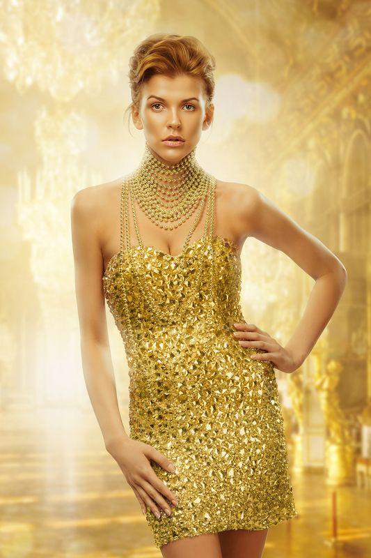 Dior, Девушка, Девушка в желтом платье, Желтый цвет Настяphoto preview