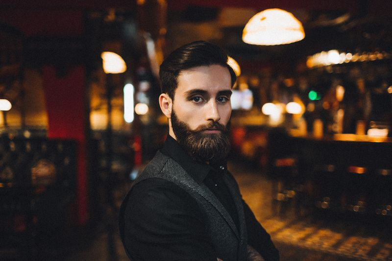 борода, паб, мужской портрет, бородач Владphoto preview
