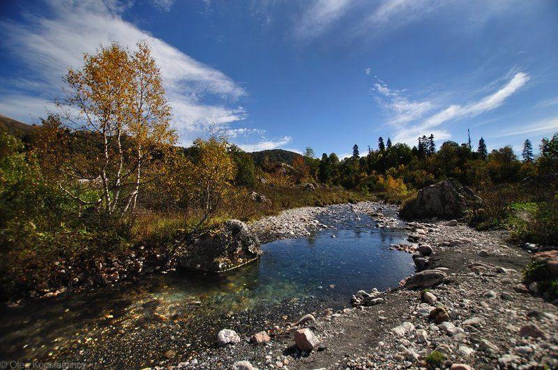 Белая, Западный кавказ, Лагонаки, Осень, Фишт Autumn At Lagonakiphoto preview