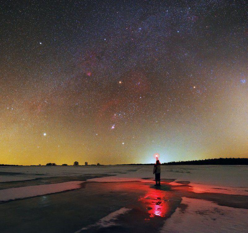 Орион, водородные туманности, Плеяды, Сириус, Бетельгейзе, Ригель Сокровища небаphoto preview