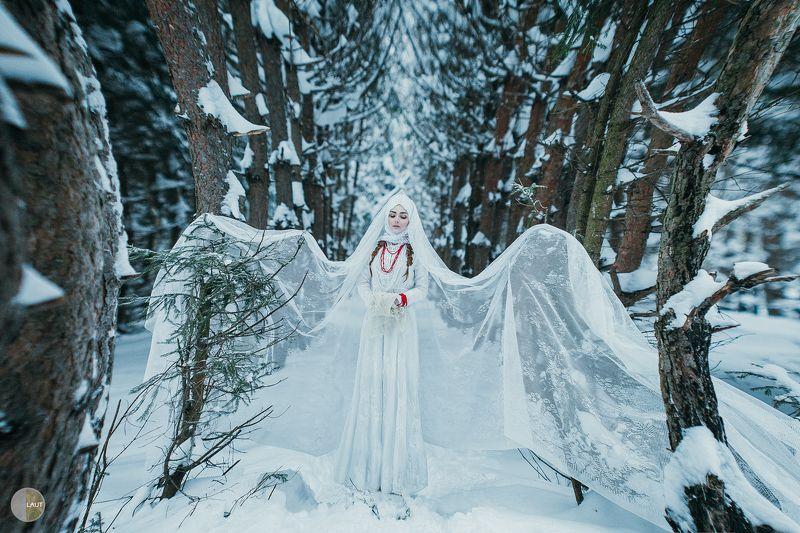 olgalaut портрет лес творческая фотосессия Алинаphoto preview