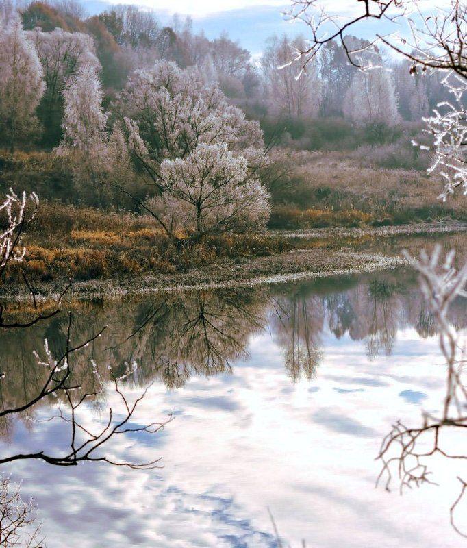 зимняя открыткаphoto preview