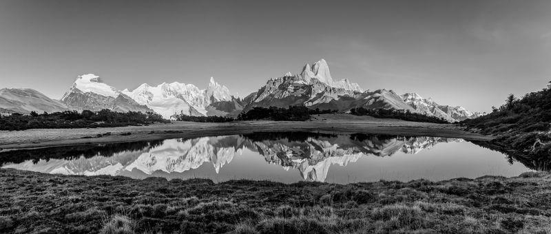 Рассвет на горном озереphoto preview
