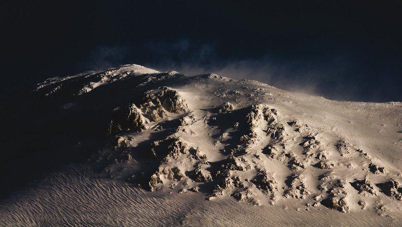 горы, кавказ, зима, снег, mountains, winter, snow photo preview