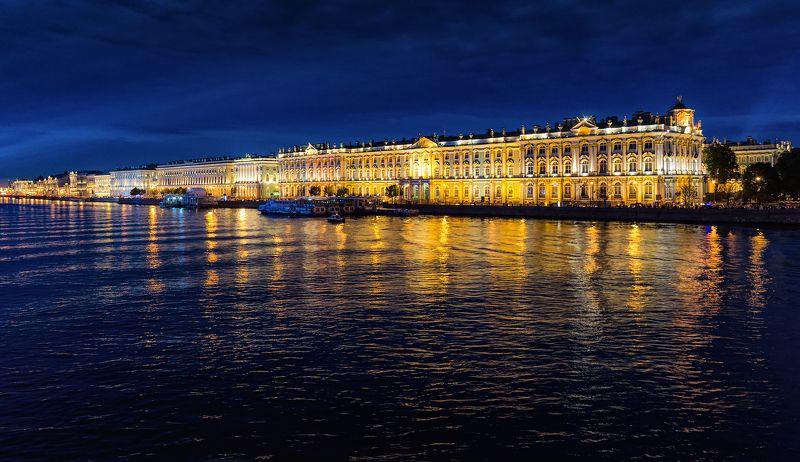 санкт-петербург, питер Ночной город...photo preview
