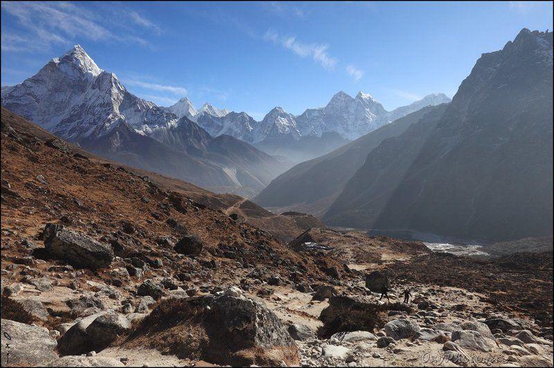 непал, гималаи, трек к бл эвереста, nepal, himalaya, trek to bc everest, К перевалу...photo preview