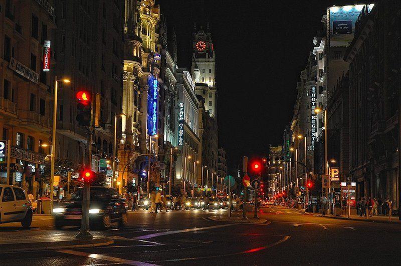Noche de Madrid.photo preview