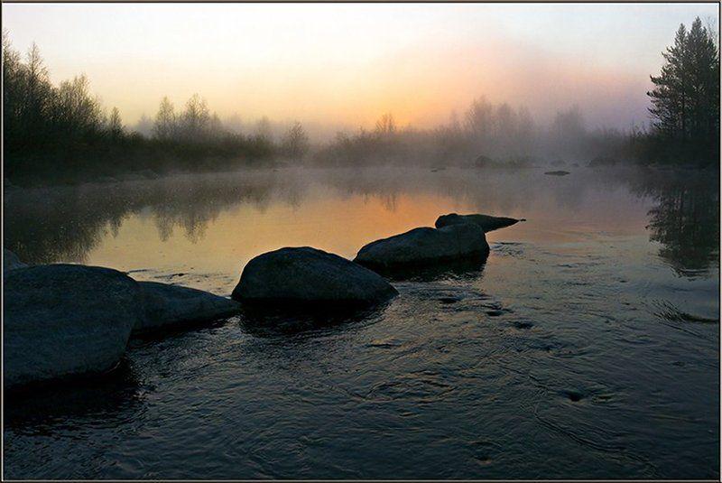 пейзаж,природа,река,лето,север Ночь на старом русле...photo preview