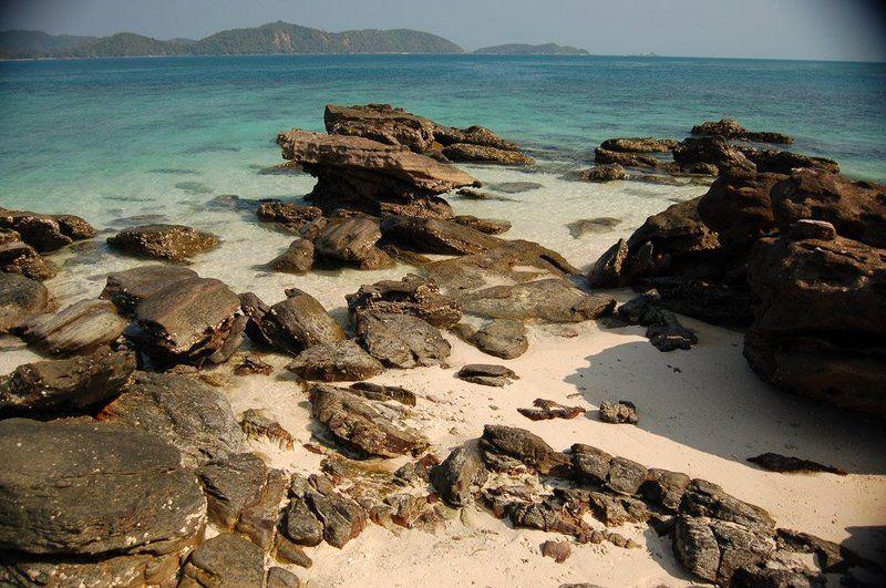 thai, phuket, sea, море, пи-пи, острова, камни, песок Phi Phiphoto preview