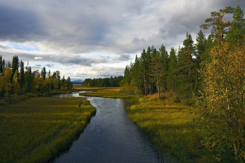 пейзаж,осень,север,ручей Верес-ручей....Осеньphoto preview