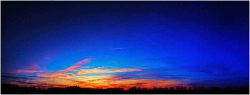 зарево, закат, край, вечер Где-то на краю земли..photo preview