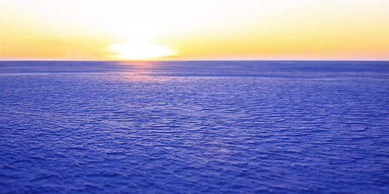 солнце, наст, зима, озеро, имандра ... до горизонтаphoto preview