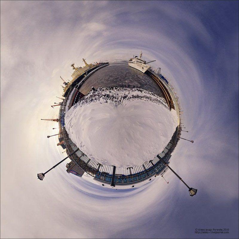 мурманск,зима,глобус Не расплескать бы:).photo preview