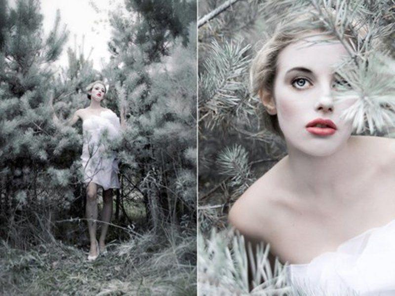 fashion, beauty, russian models, winter, art photo, anya kozyreva Winter.photo preview