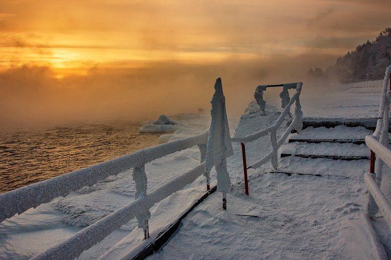 Закатный ноктюрн Ангарыphoto preview