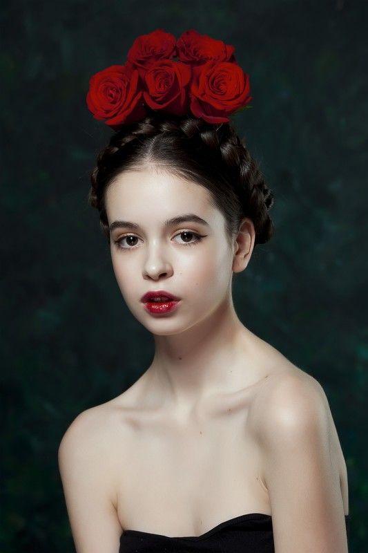 розы, инфанта, красное, губы, красные губы photo preview