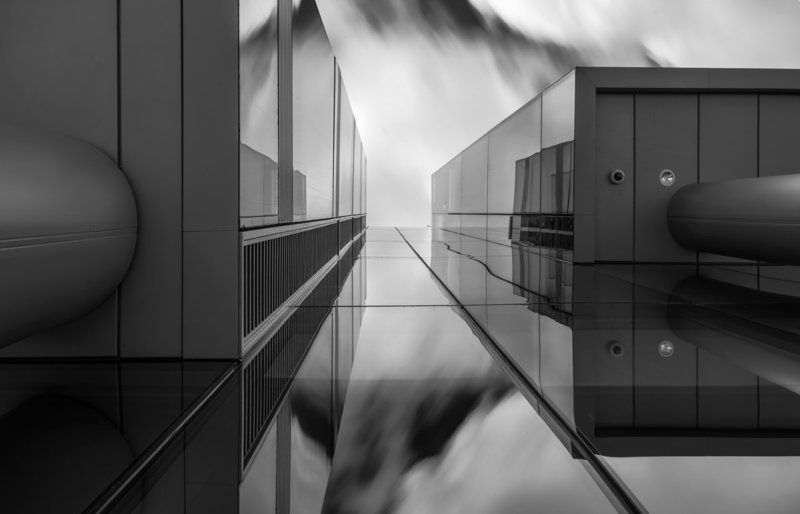 Architecture, Black & white, Long exposure Blockphoto preview