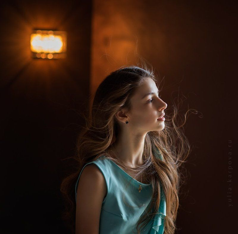 portrait, girl, light ***photo preview